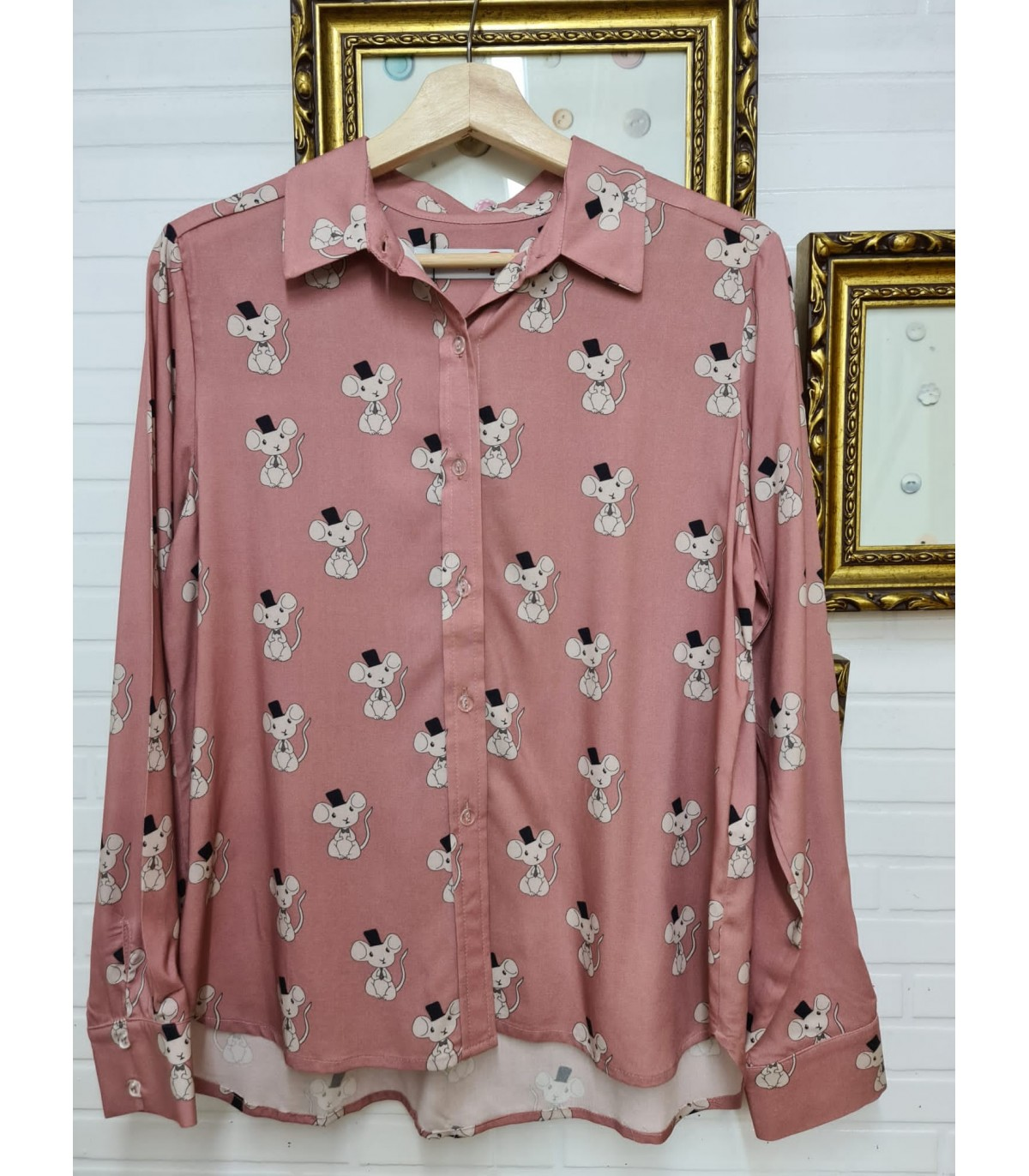 Camisa ratones